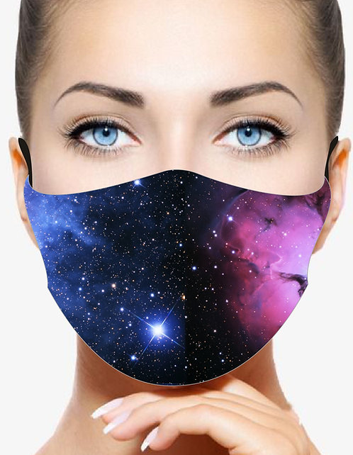 STARRY NIGHT REUSABLE & WASHABLE FACE MASKS + FILTER