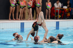 Pirate synchronised swimming
