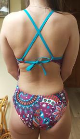 Tieback SF32 Swimsuit Back