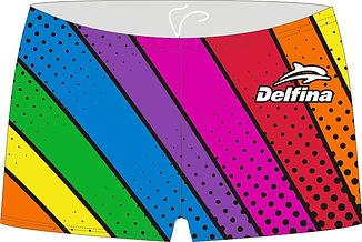 Rainbow SH24 square leg brief