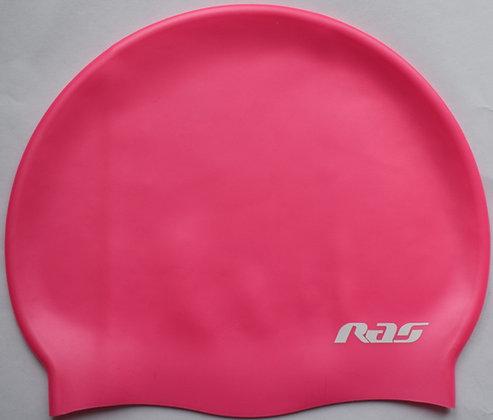 RAS PINK SILICONE SWIMMING CAP