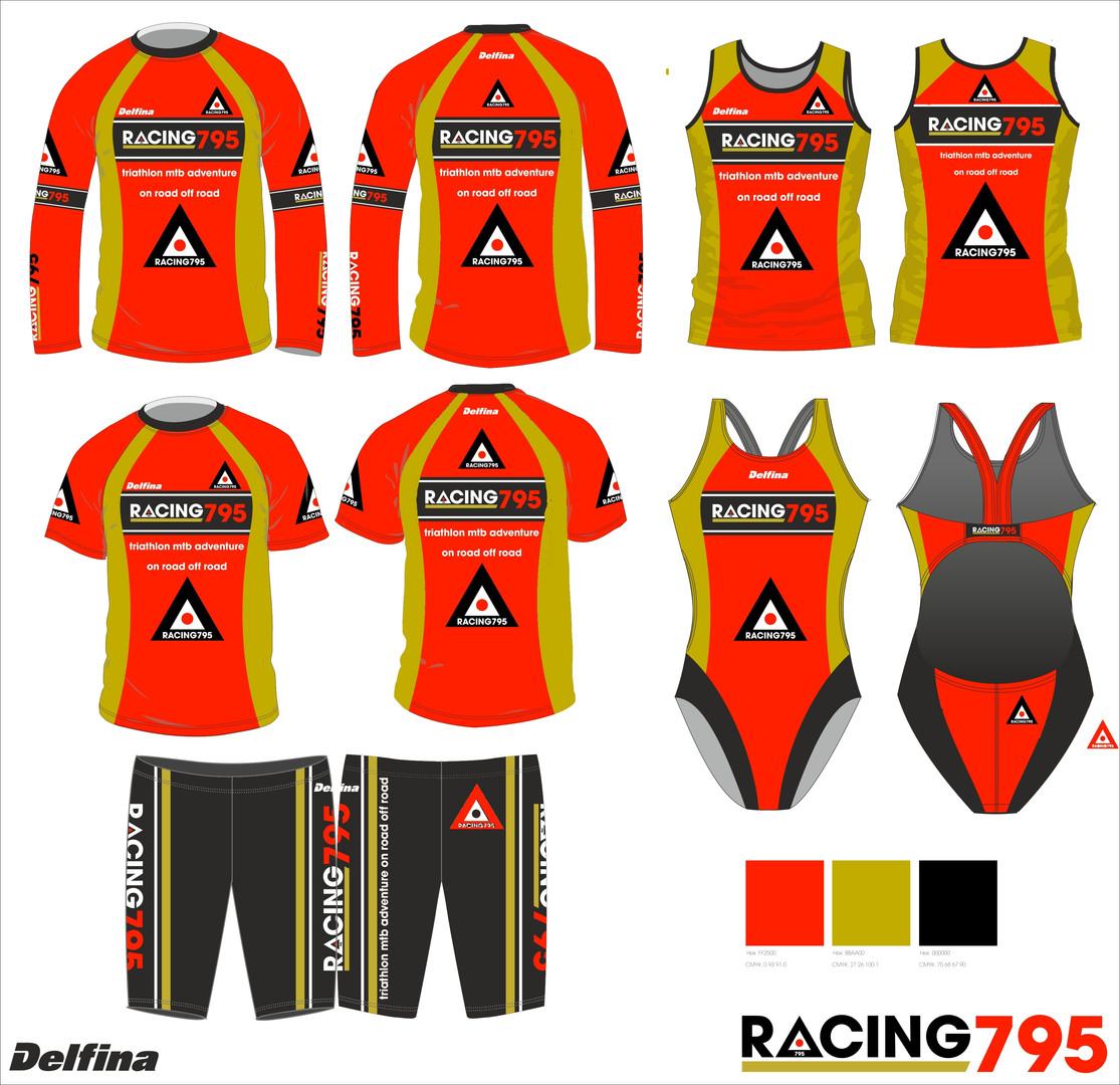 Racing 795 Triathlon customised print sp