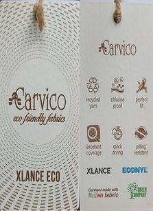 Eco Fabric Swimwear label