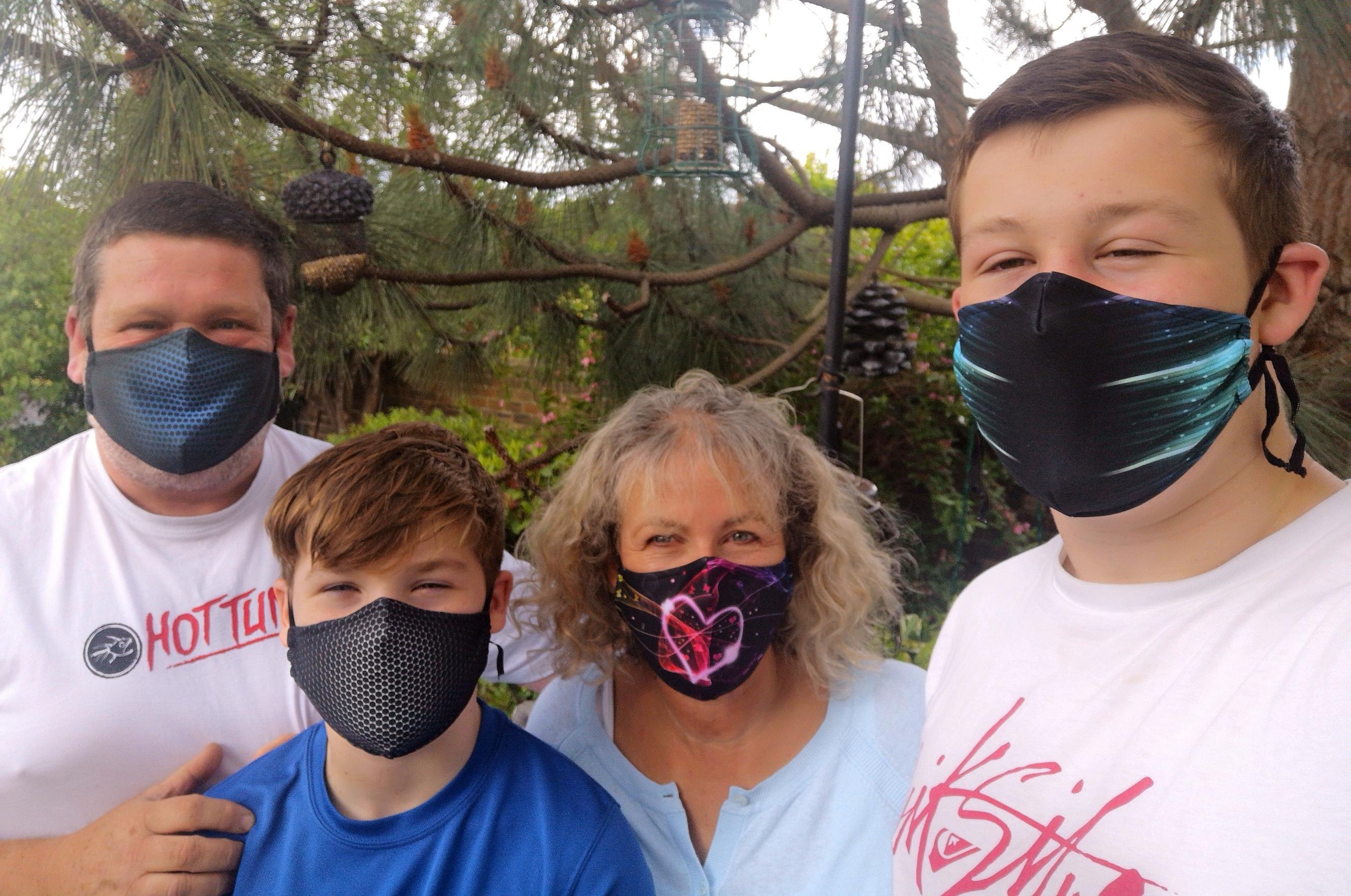 Delfina Face Masks