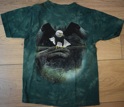 """THE MOUNTAIN T SHIRT """"PERCHED EAGLE"""" - CHILD"""