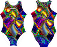 Abstract 2 Delfina Waterpolo Swimsuit