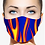 Thumbnail: FLAMES DESIGNER PRINT REUSABLE FACE MASKS + WASHABLE FILTERS