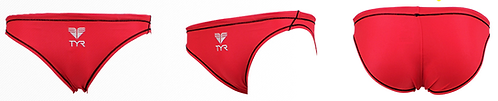 TYR BRIEFS TBRMRC02 RED