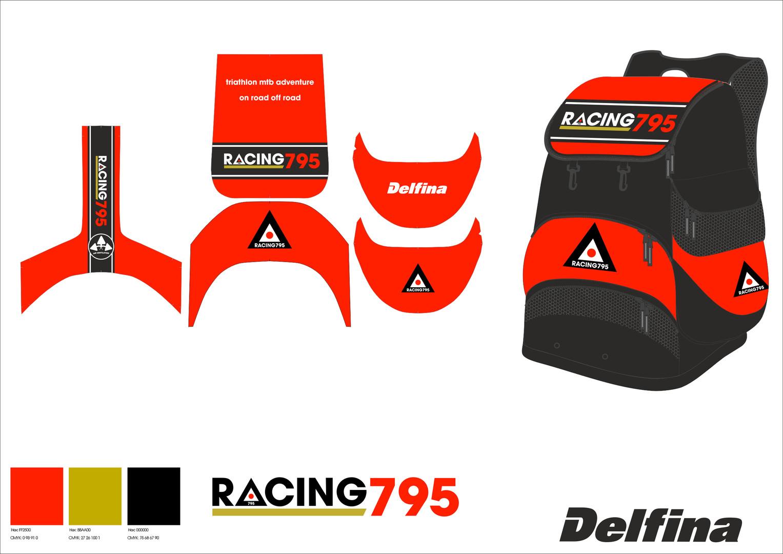 Racing 795 Triathlon customised print ho