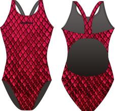 Red Dragon Delfina Bladeback Swimsuit