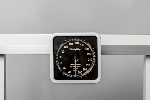 Welch Allyn Manometer with Cuff Basket