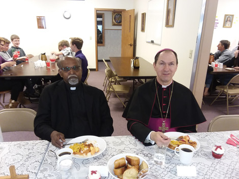Confirmation with Bishop Folda