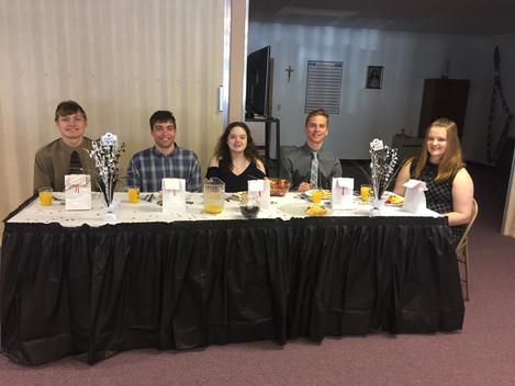 Baccalaureate 2018 Banquet