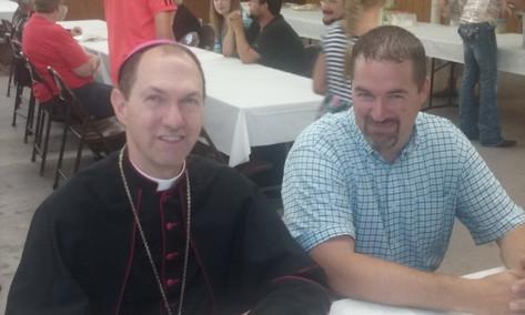 Visit with Bishop Folda