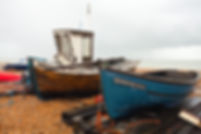 Fishing boats on Deal beach