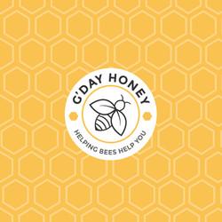 G'Day Honey Rebranding