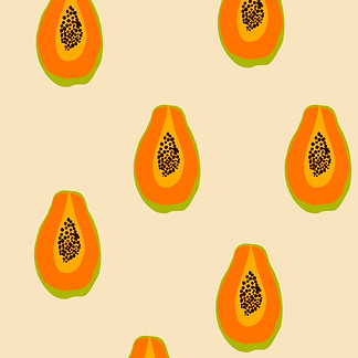Papaya Pattern