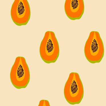 Papaya Pattern