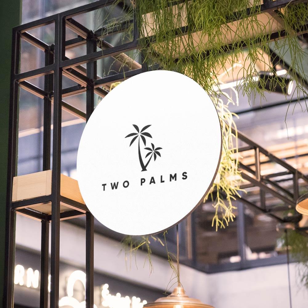 Two Palms Media Branding