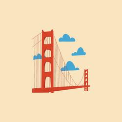 Moterra - Golden Gate Illustration