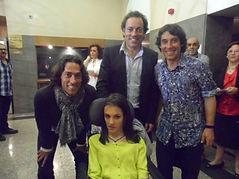 Lorena Bogado con Café Quijano