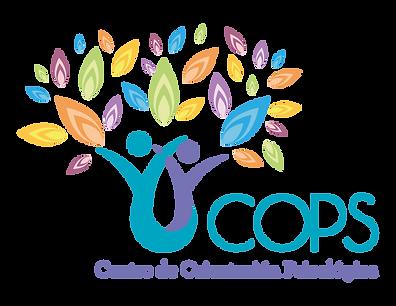 LOGO COPS, ARBOL DE PERSONAS Y HOJAS