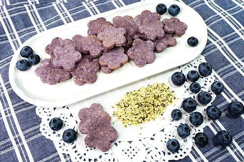 Hemp Seed Apple & Blueberry Cookies 5oz. Dog Treats