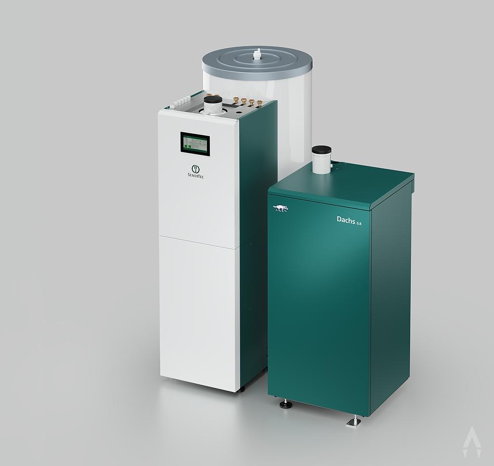 3D-Rendering: Produktvisualisierung einer Heizungsanlage