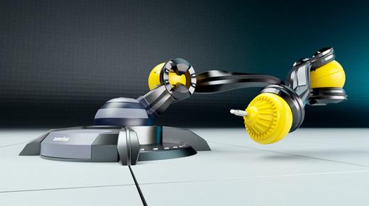 Industrie-Roboter Bewegungsablauf Beispiel 3