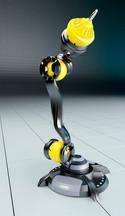 Industrie-Roboter Bewegungsablauf Beispiel 1