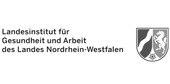 Logo Landesinstitut Gesundh.&Arbeit