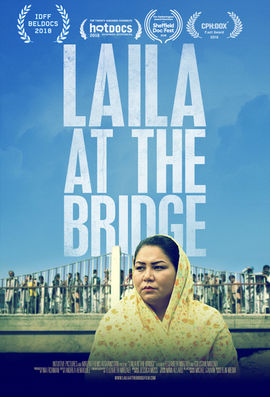 Laila at the Bridge   2018