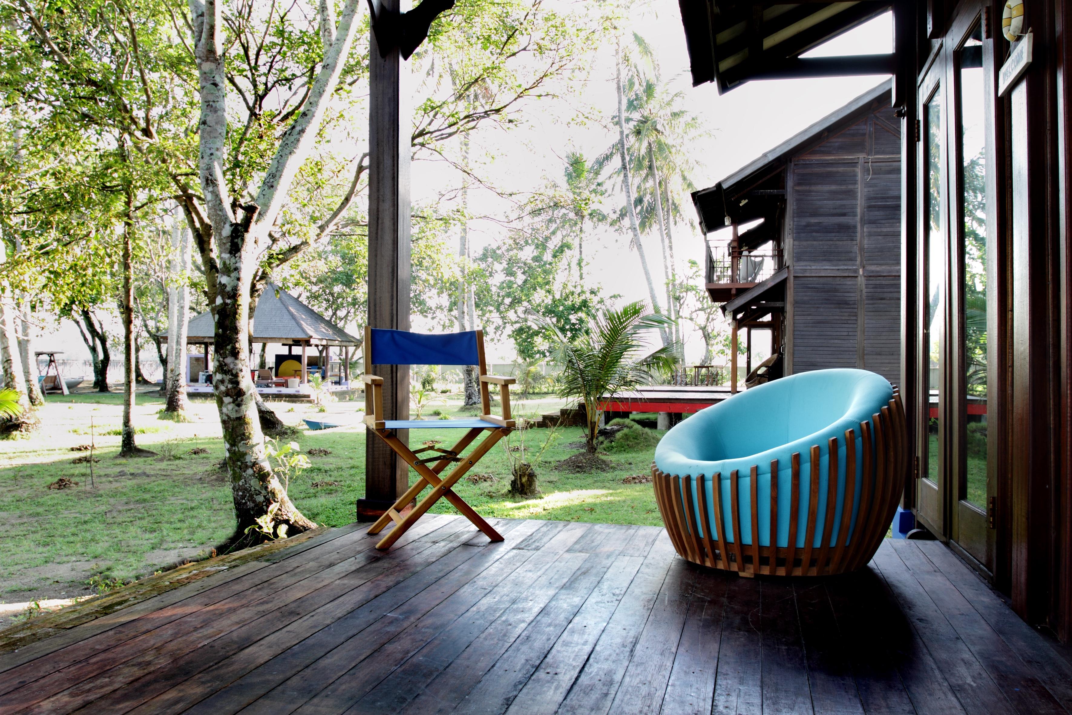 rumah biru chair - porch 2