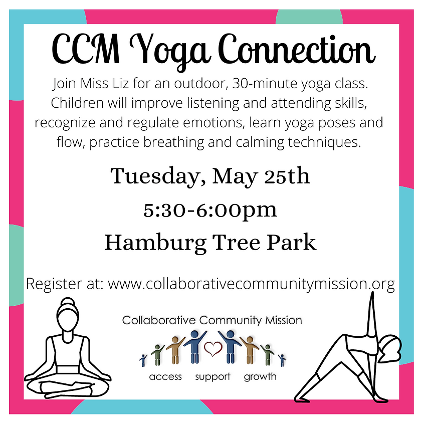 CCM Yoga Connection - In Person