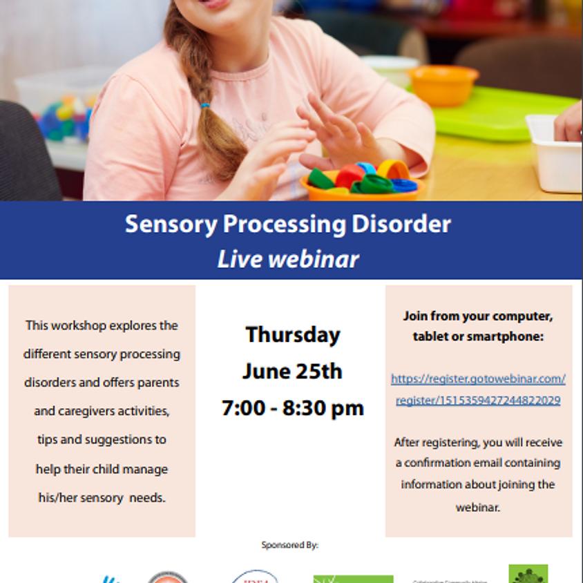 Parent Network - Sensory Processing Disorder
