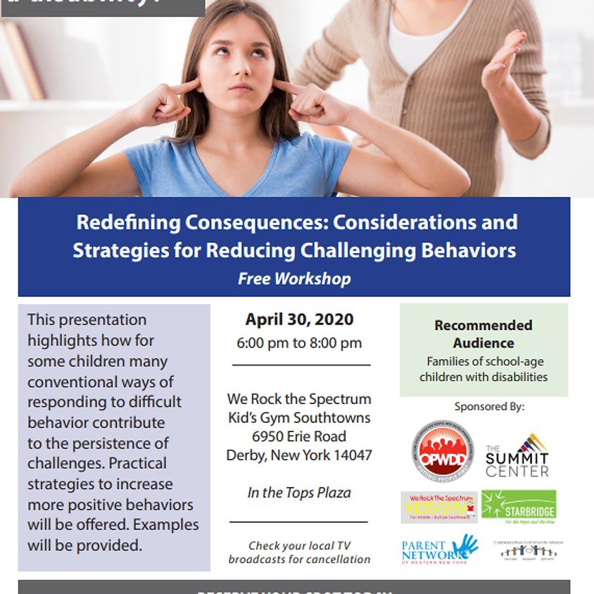 Parent Network Workshop- Redefining Consequences