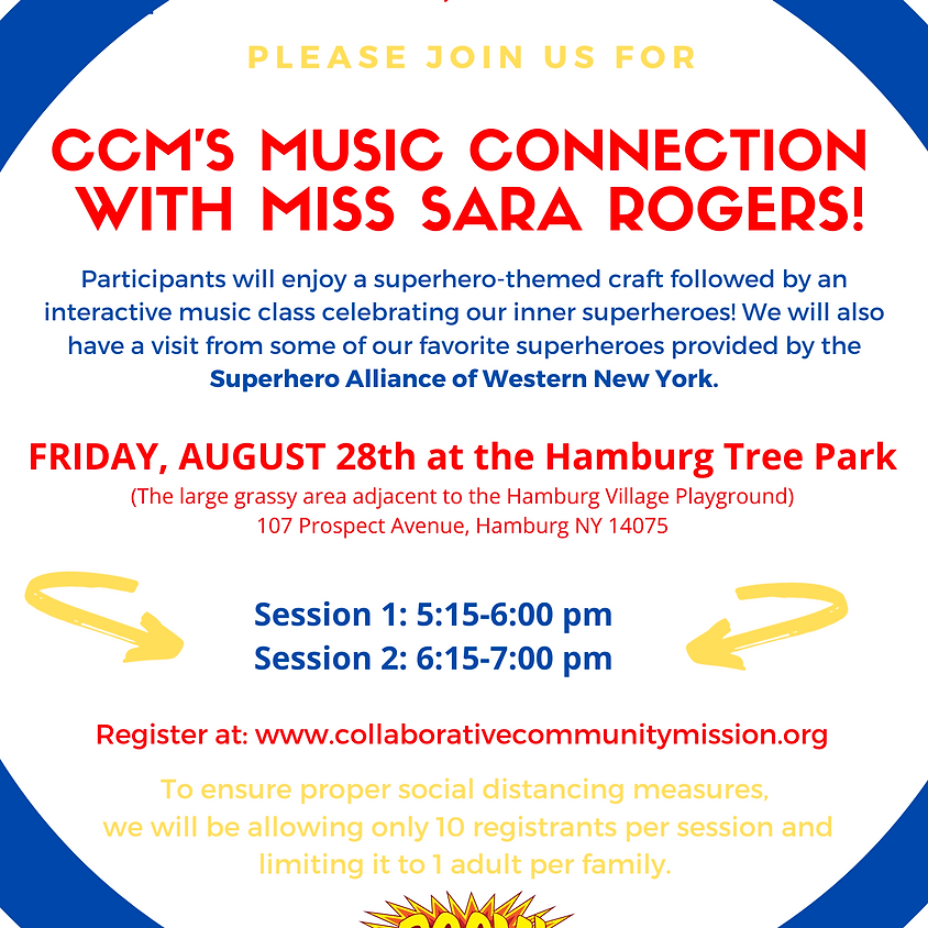 CCM'S Music Connection with Miss. Sara Rogers
