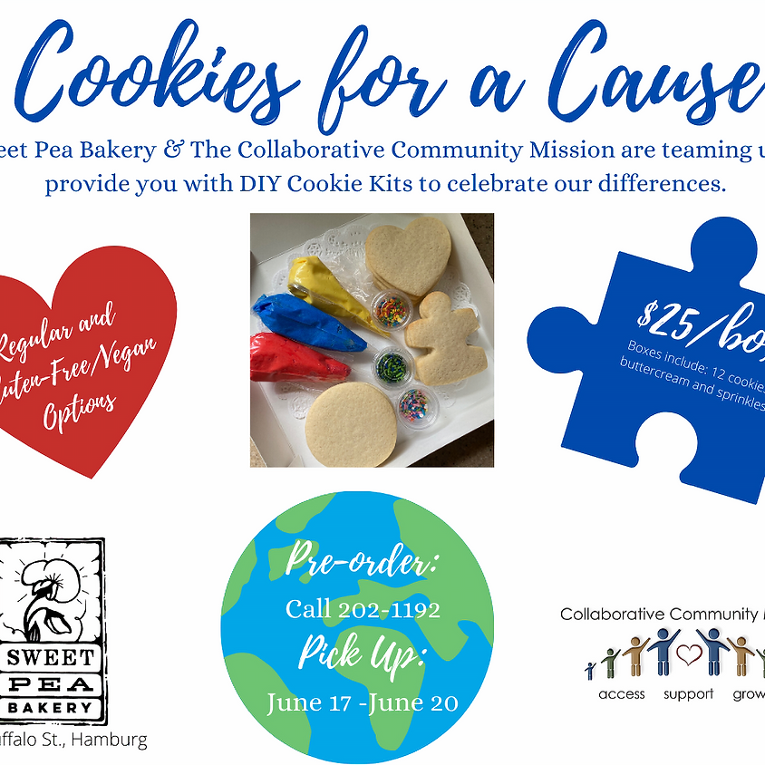 Cookies for a Cause : Pre- order