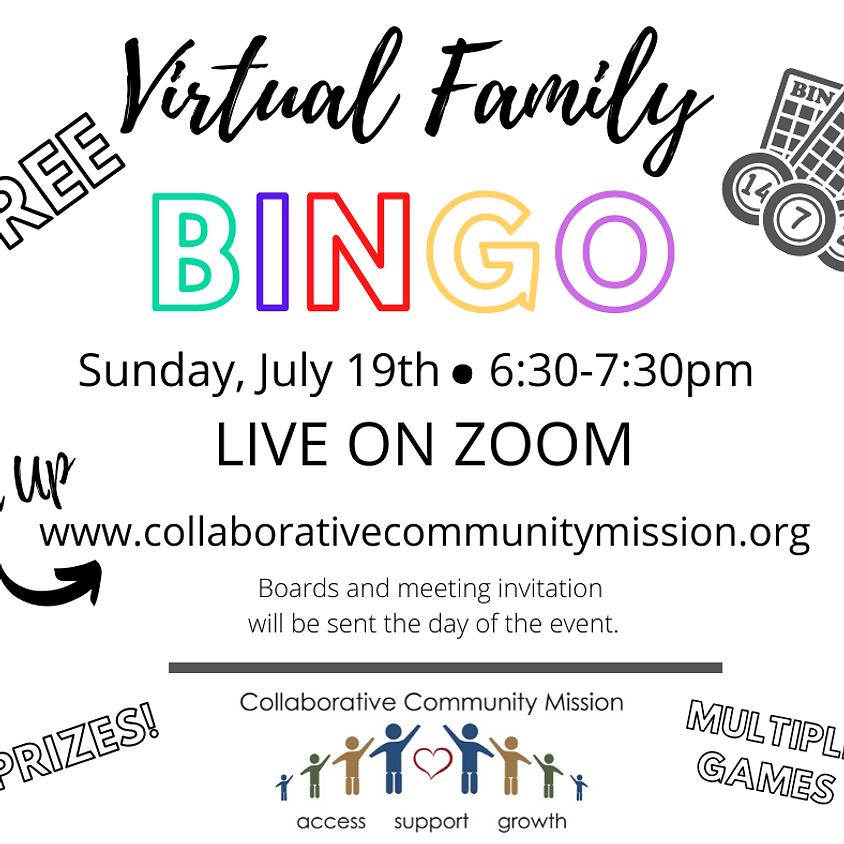 Virtual Family BINGO