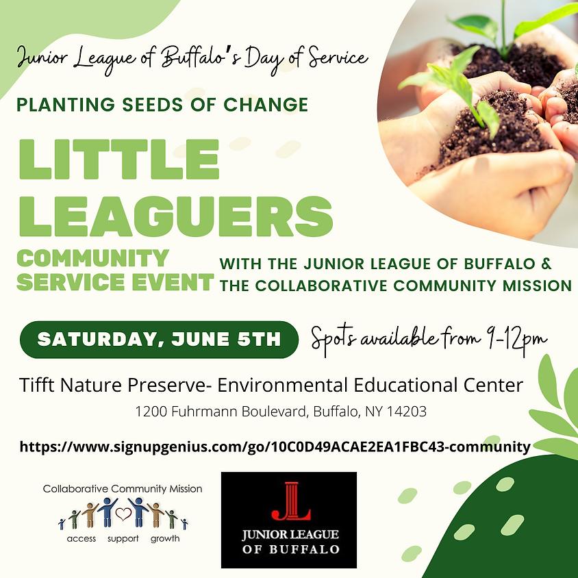 CCM & Junior League of Buffalo Community Service Event
