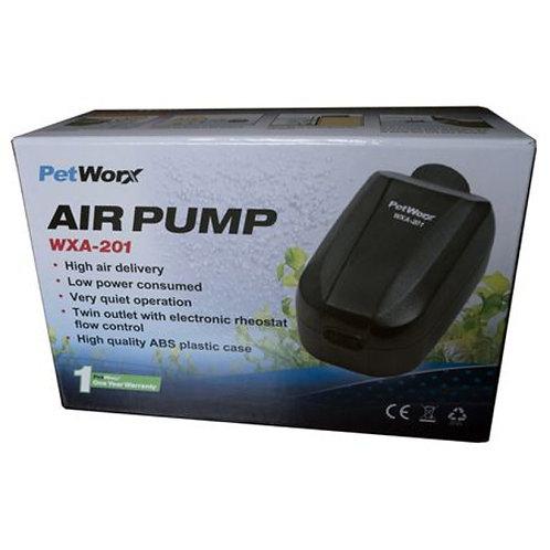 PetWorx Air Pump WXA-201 | Fishy Biz | Buy Air Pumps & Accessories South Australia | Adelaide Pets