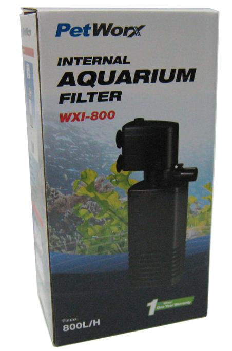 Pet Worx Internal Filter 800 LPH | Aquarium Internal Filter | Fish Tank Filtration | Aquarium Cleaning Products | Adelaide