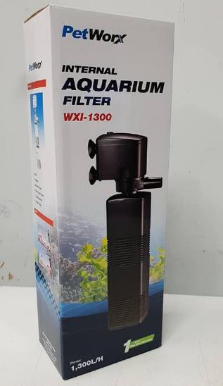 Pet Worx  Internal Filter 1300 LPH | Fish Tank Filtration | Aquarium Filter | Adelaide Pet Store | South Australia