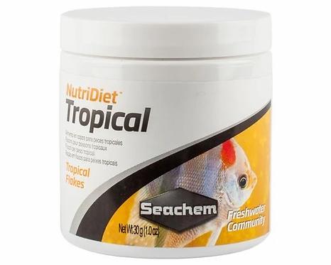 SEACHEM NUTRIDIET TROPICAL FISH FLAKES 30GM   Fishy Biz   Aquarium Near Me   South Australia   Bulk