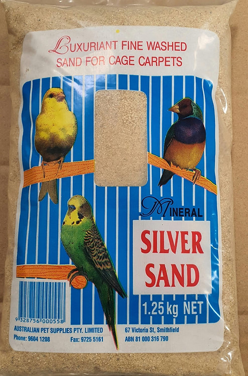 Mineral Silver Sand 1.25kg