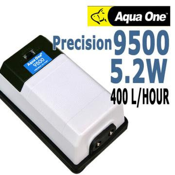 Buy Aqua One Precision Air Pump 9500 - Double Outlet Air Pump | Fishy Biz | South Australia | Aquarium Air Pump | Fish Tank