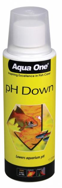 Buy Aqua One Liquid PH Down 250ml Online | Fishy Biz | South Australia | Tropical | Freshwater | Adelaide