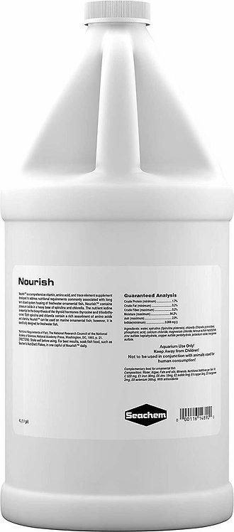 Seachem Nourish Vitamin Supplement For Fish 4L