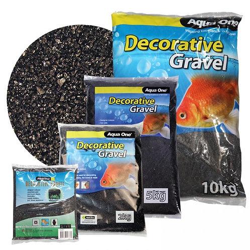 Aqua One Black Diamond Silica Sand 1-2mm 5kg | Fishy Biz | Adelaide | South Australia | Aquarium Substrate | Tropical Fish