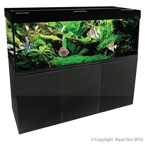 Buy Aqua One Brilliance 150 398L Rectangular Aquarium Set (LED Version) | Fishy Biz | South Australia | Tropical Marine Fish